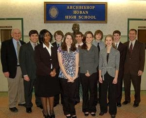 Archbishop Hoban High School Mock Trial Team